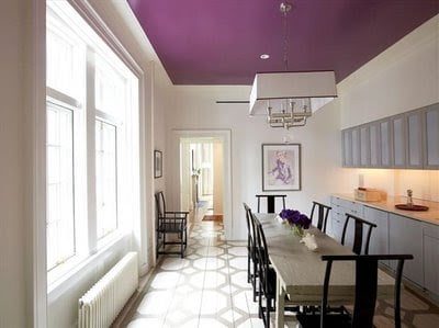 Colorful Ceiling Paint Inspiration