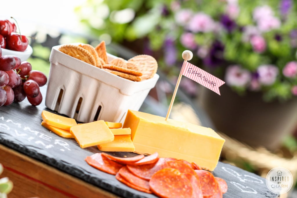A Cheese Party for Two via Inspired by Charm