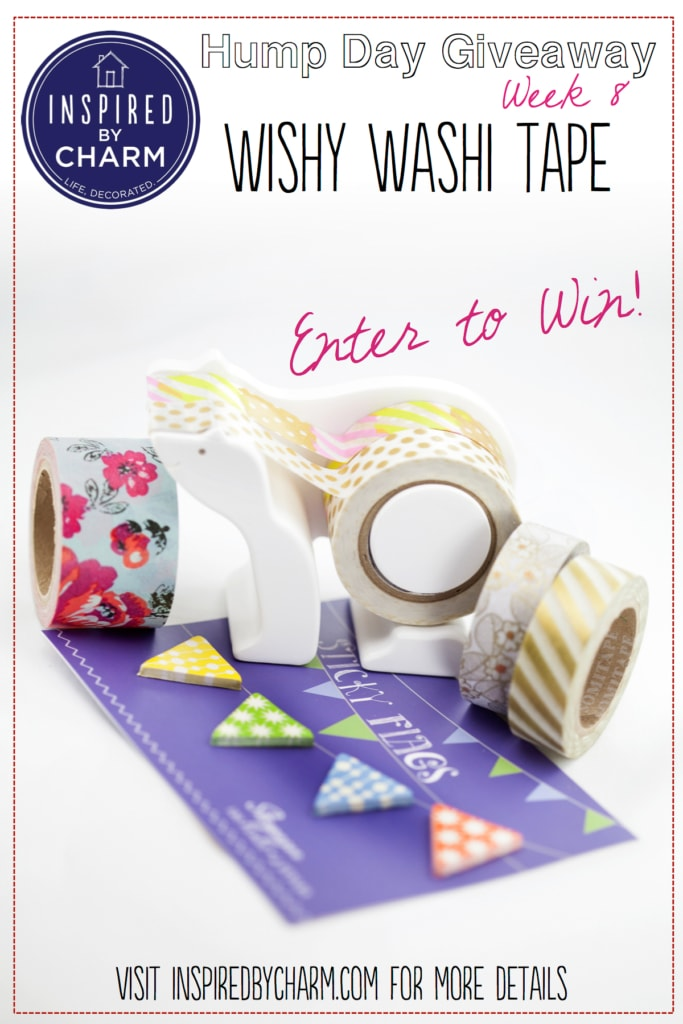 Wishy Washi Tape Hump Day Giveaway via Inspired by Charm