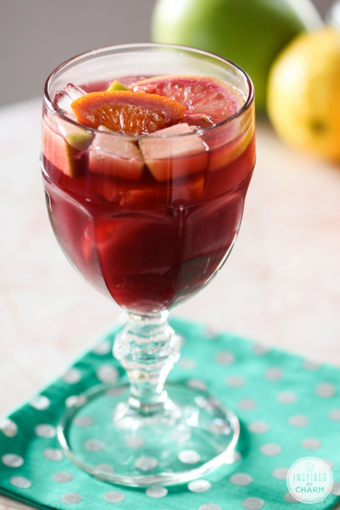 Sangria Tinto via Inspired by Charm