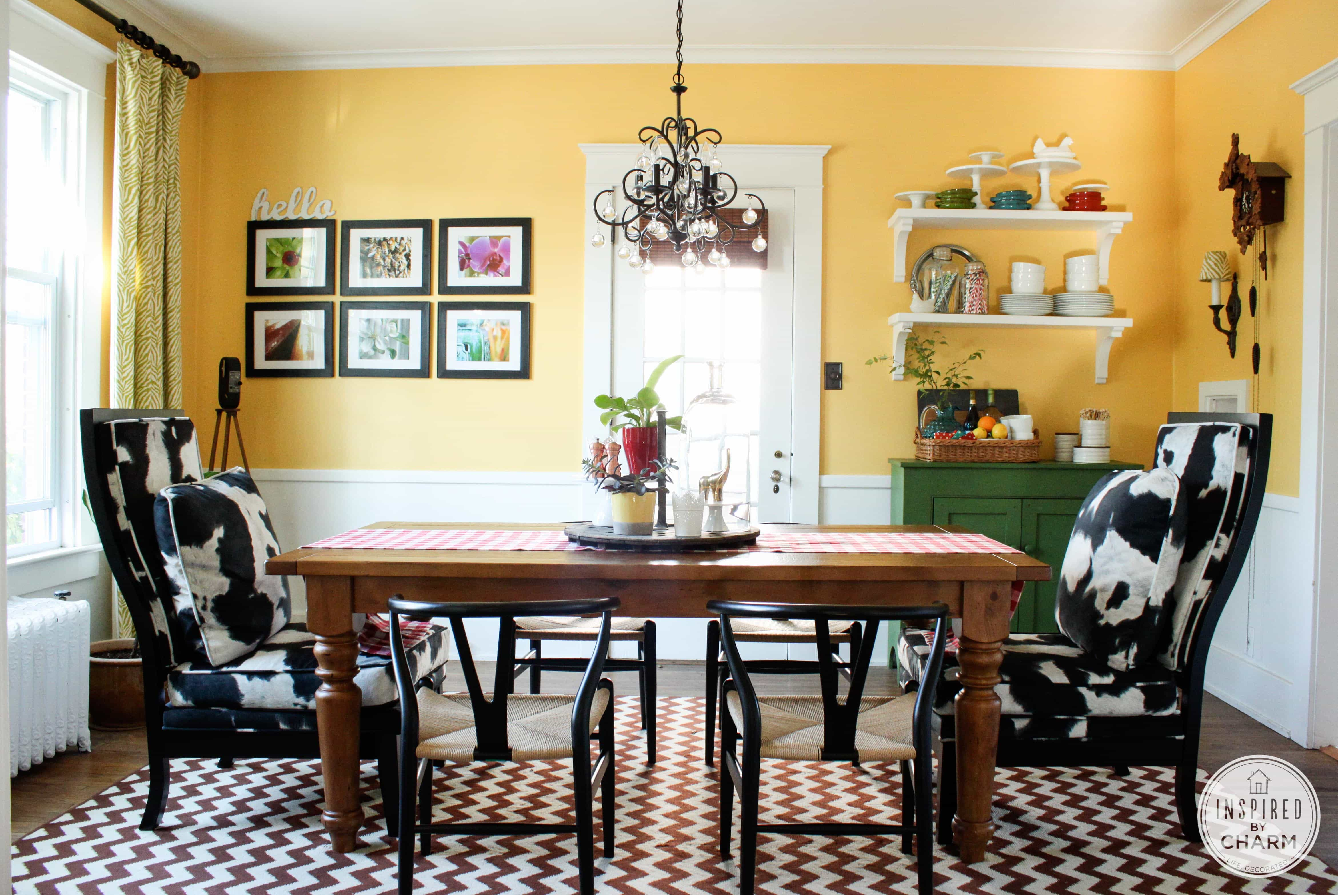 summer dining room inspired by charm