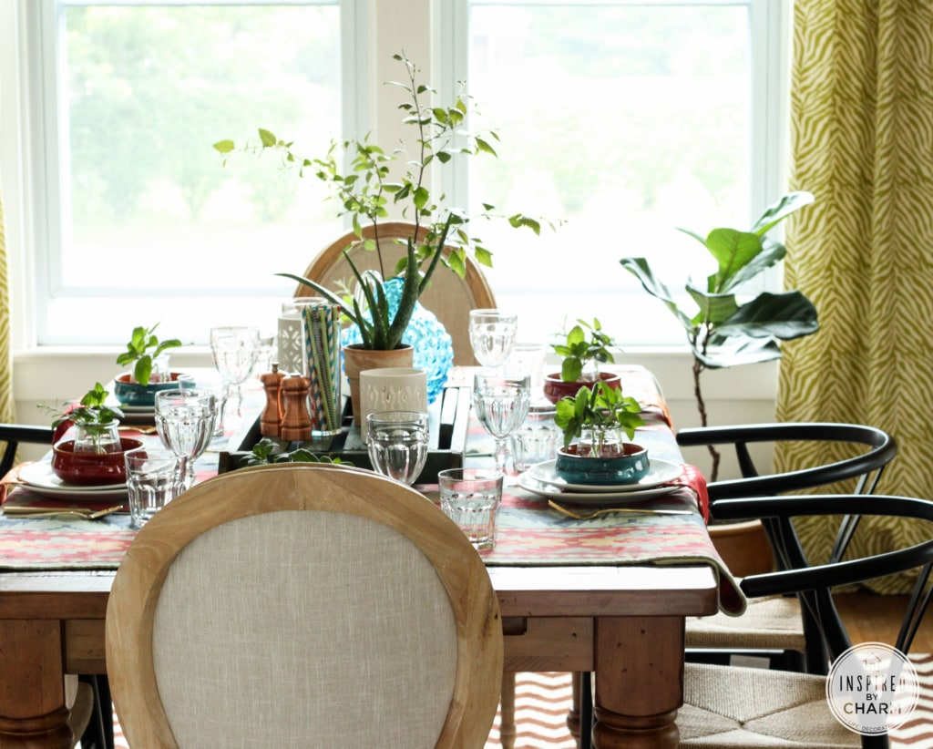 Table Setting with Inspired by Charm