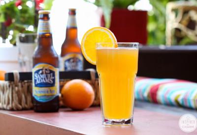 Peachy Summer Ale via Inspired by Charm #DrinksandLinks
