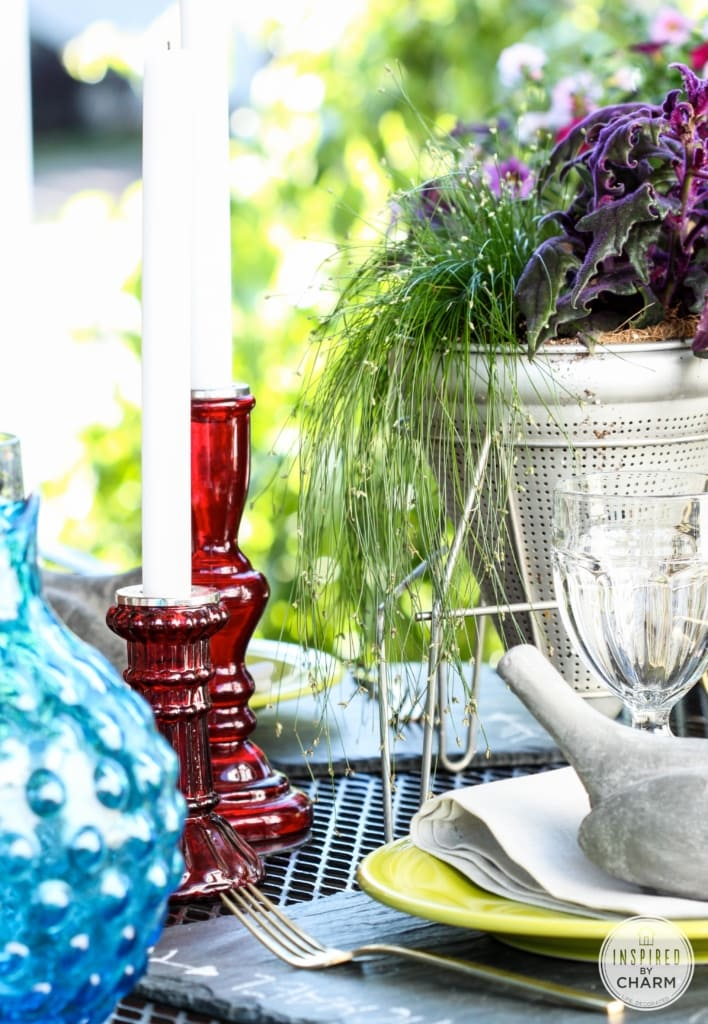 A Party on the Porch with Inspired by Charm
