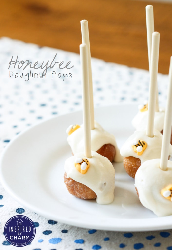 Doughnut Hole Cake Pops | Inspired by Charm  for Better Homes & Gardens