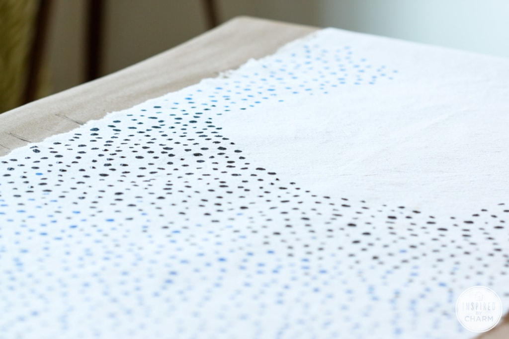 DIY Dot Table Runner | Inspired by Charm