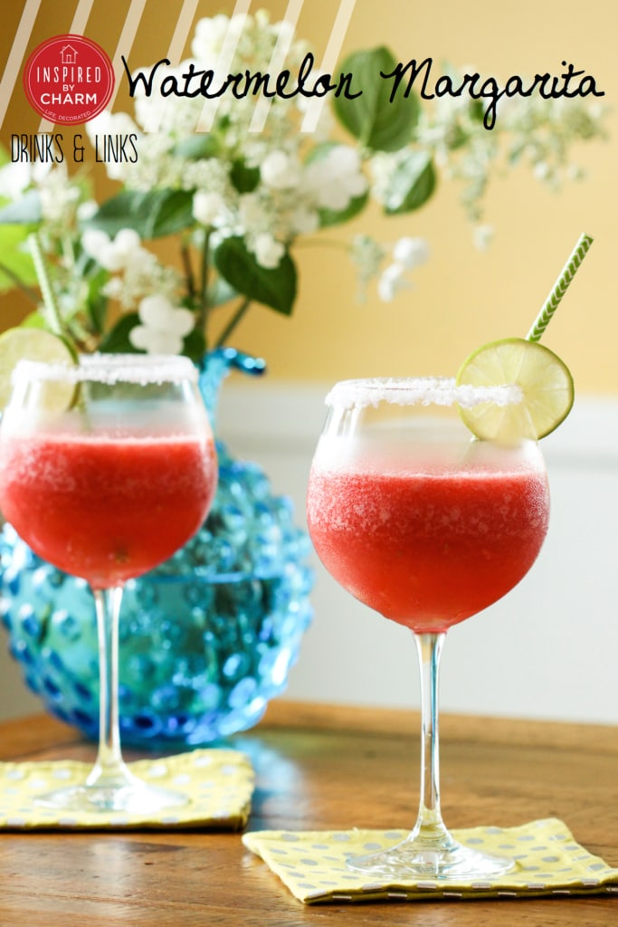 Watermelon Margarita | Inspired by Charm