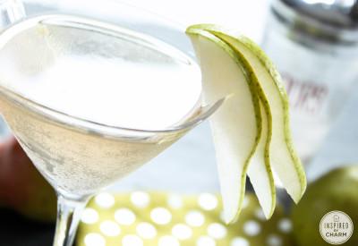 Pear Martini | Inspired by Charm #drinkandlinks
