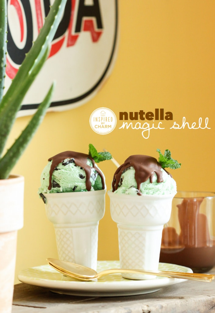 Nutella Magic Shell | Inspired by Charm
