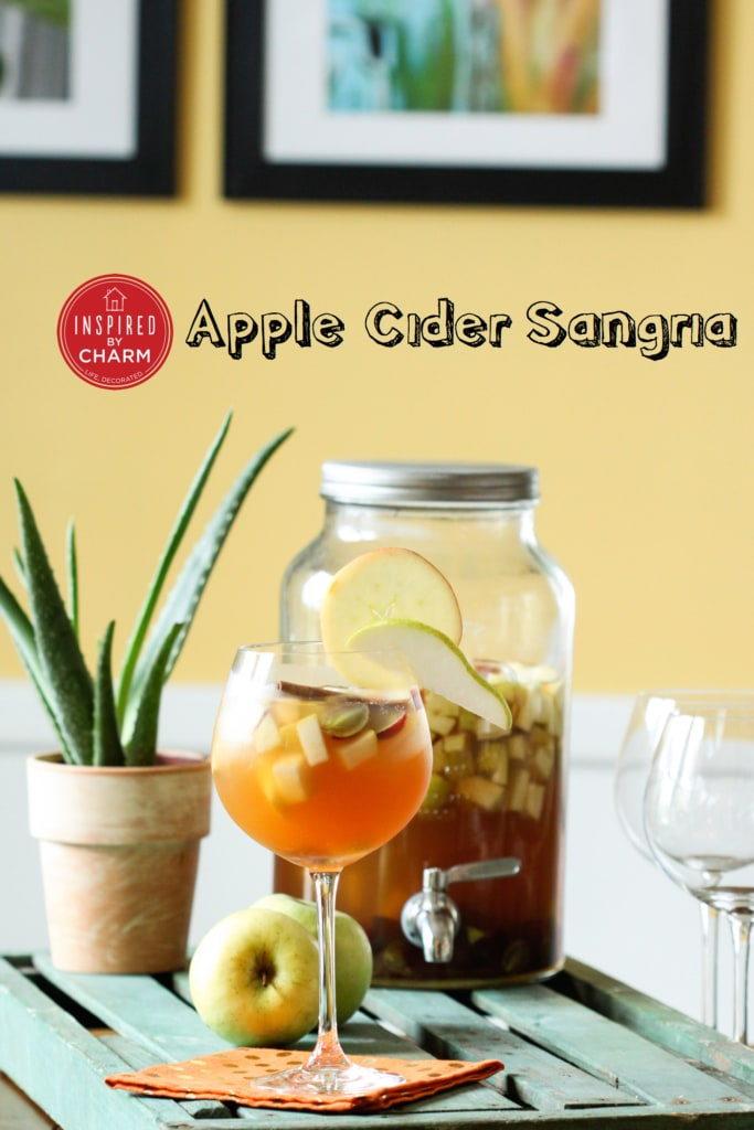 Apple Cider Sangria   Inspired by Charm