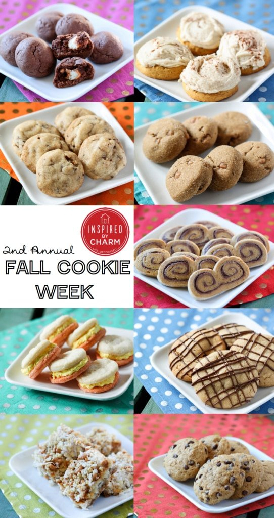 Fall Cookie Week | Inspired by Charm #IBCFallCookieWeek