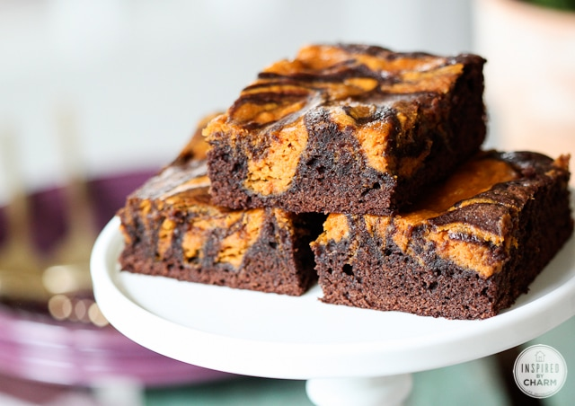 Pumpkin Brownies - Better homes and gardens brownie recipe