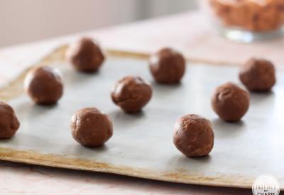 Chocolate Pumpkin Spice Cookies | Inspired by Charm #IBCFallCookieWeek