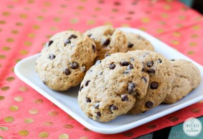 Pumpkin Chocolate Chip Cookies | inspiredbycharm.com