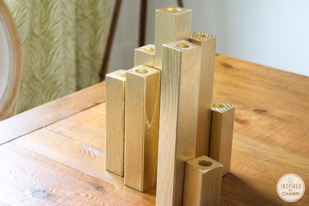 Multiple Taper Candle Holder | Inspired by Charm #31daysofhome