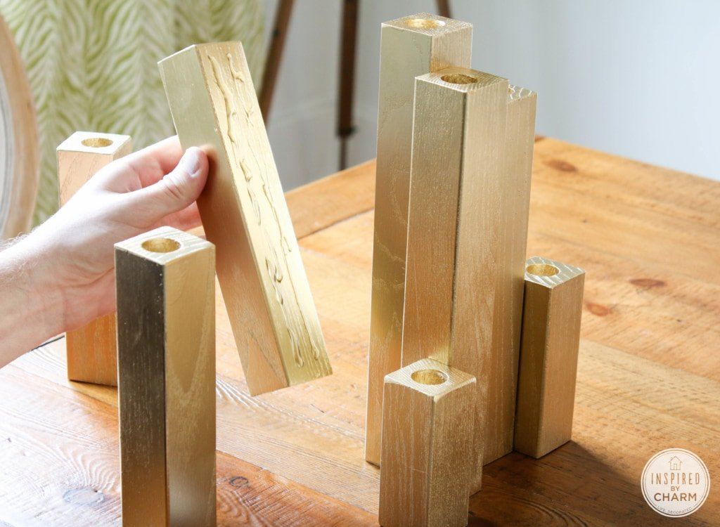 Multiple Tape Candle Holder | Inspired by Charm #31daysofhome