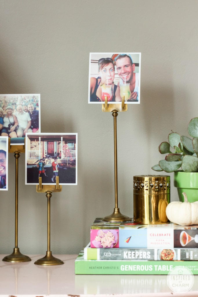 Decorating with Instagrams | Inspired by Charm #31daysofhome