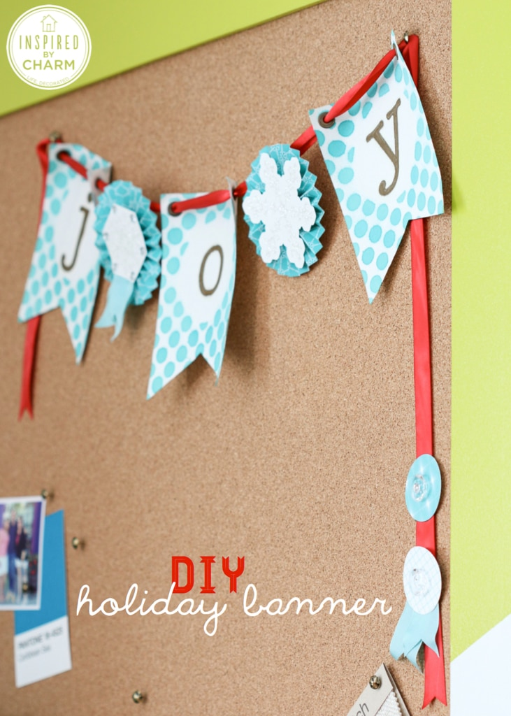 DIY Banner and Gift Tags | Inspired by Charm for Stampin' Up #IBCholiday