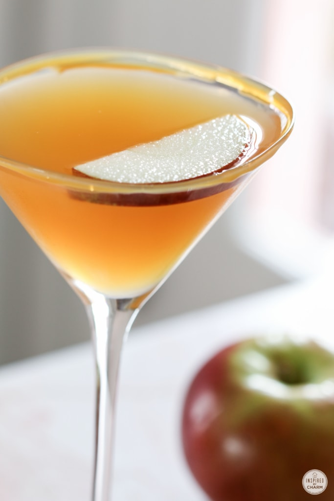Caramel Apple Cider Martini | Inspired by Charm for Red Envelope