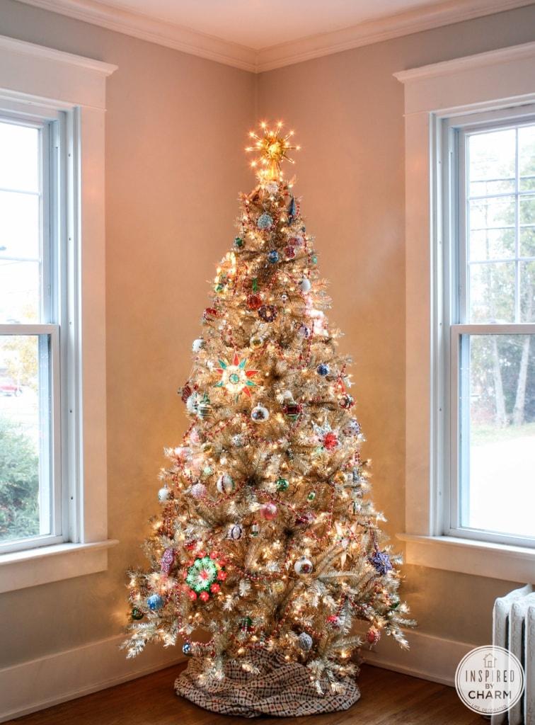 rockin around the vintage christmas tree inspired by charm ibcholiday around the - Vintage Christmas Trees