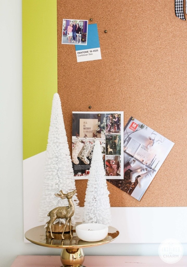 DIY Colorful Bulletin Board   Inspired by Charm
