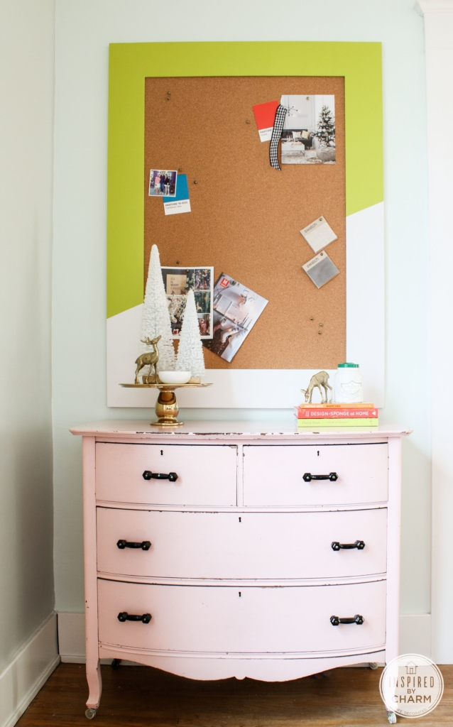 DIY Colorful Bulletin Board | Inspired by Charm