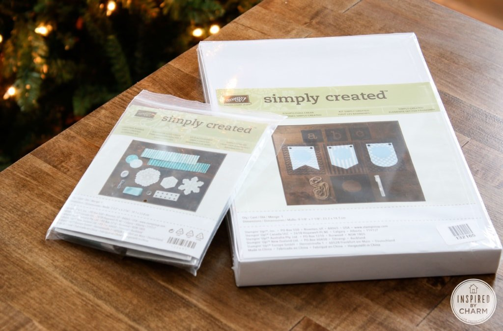 DIY Banner and Gift Tags   Inspired by Charm for Stampin' Up #IBCholiday