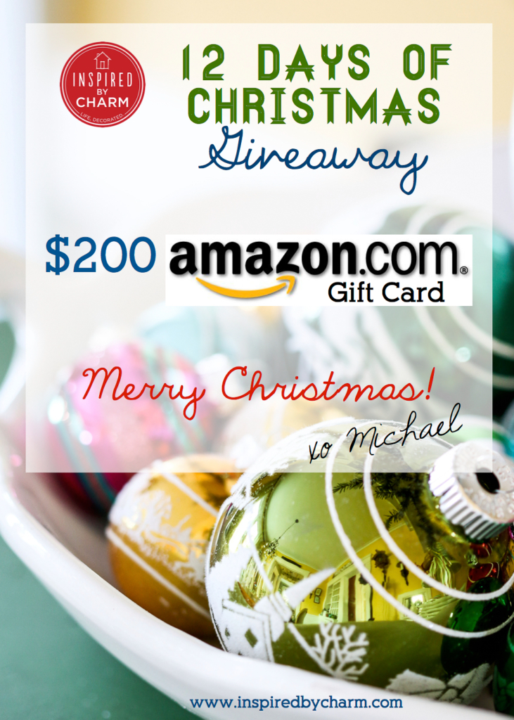12 Days Giveaway | Inspired by Charm #12days72ideas #IBCholiday