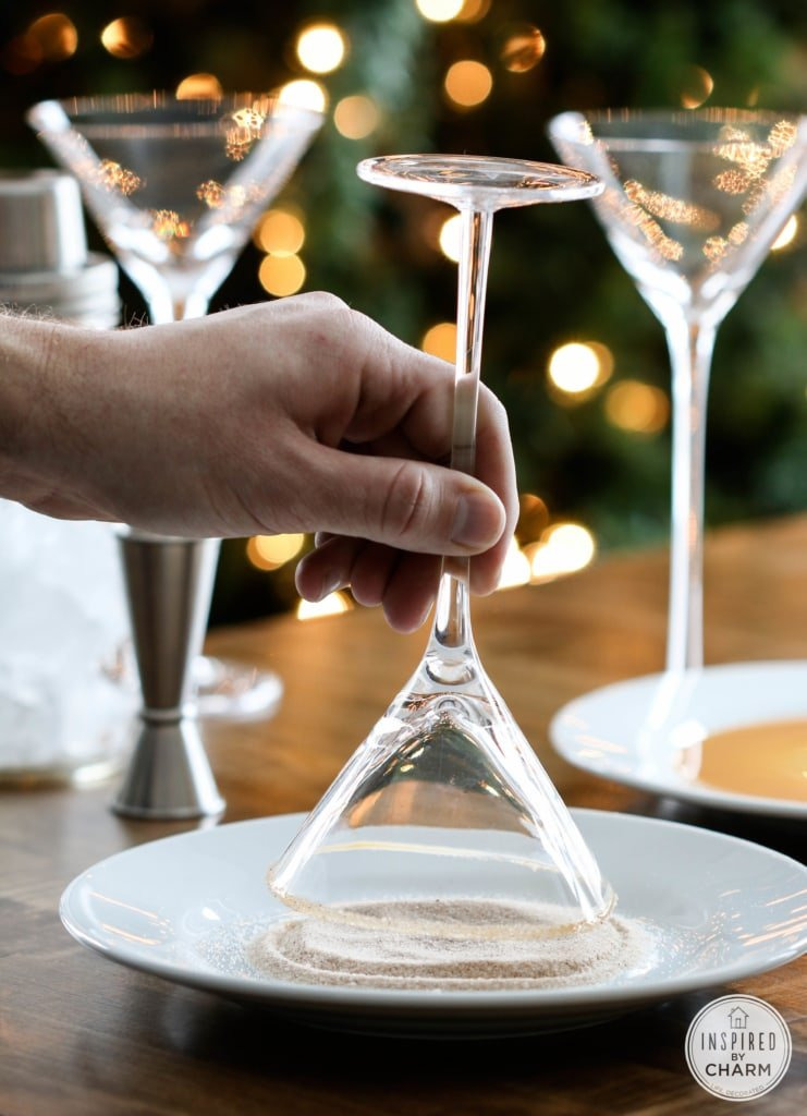Pumpkin Spice and Peppermint Mocha Martinis   Inspired by Charm #IBCholiday #12days72ideas