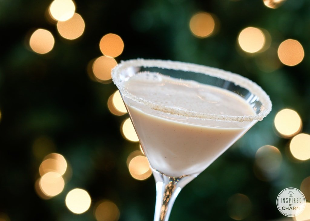 Pumpkin Spice and Peppermint Mocha Martinis | Inspired by Charm #IBCholiday #12days72ideas