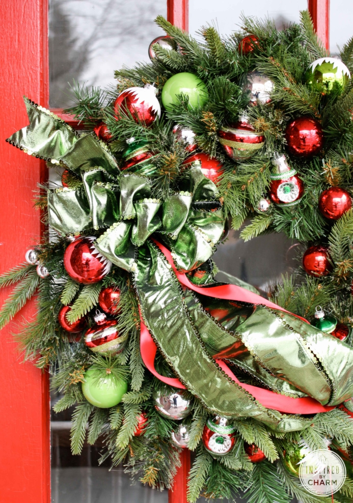Another Festive Wreath | Inspired by Charm #12days72days #IBCholiday