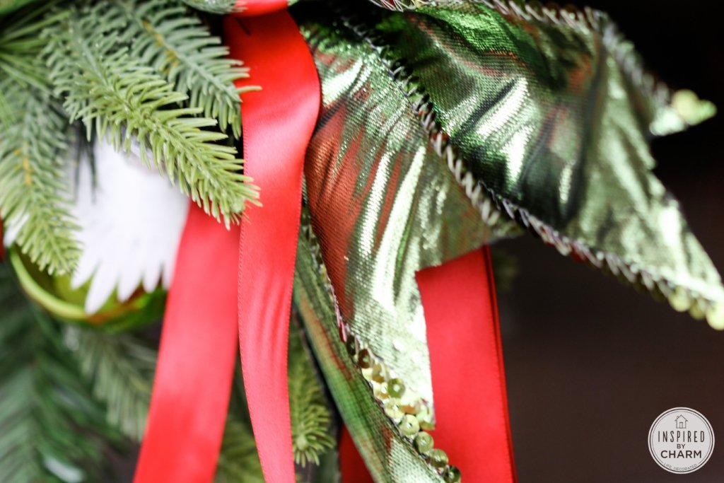 Another Festive Wreath   Inspired by Charm #12days72days #IBCholiday