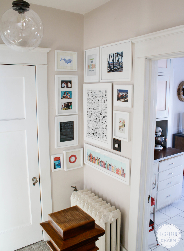 My Completed Gallery Wall | Inspired by Charm