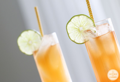 Rum Punch   Inspired by Charm #DrinksandLinks