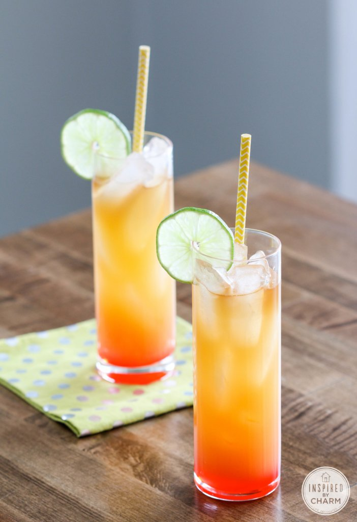 Rum Punch | Inspired by Charm #DrinksandLinks