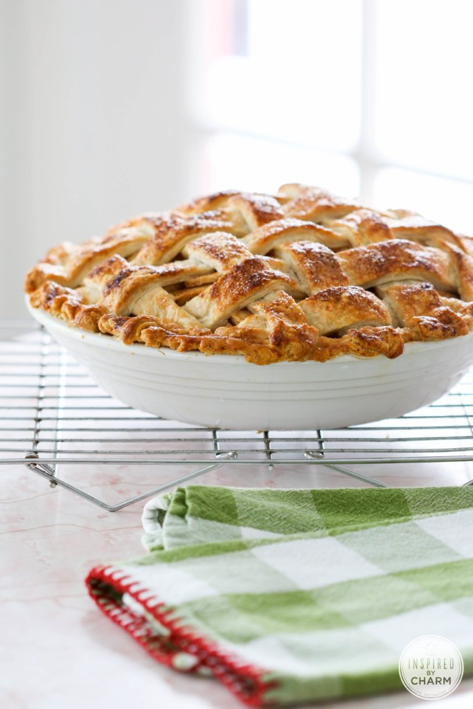 Apple Pie with All-Butter Crust | Inspired by Charm #ayearofpie