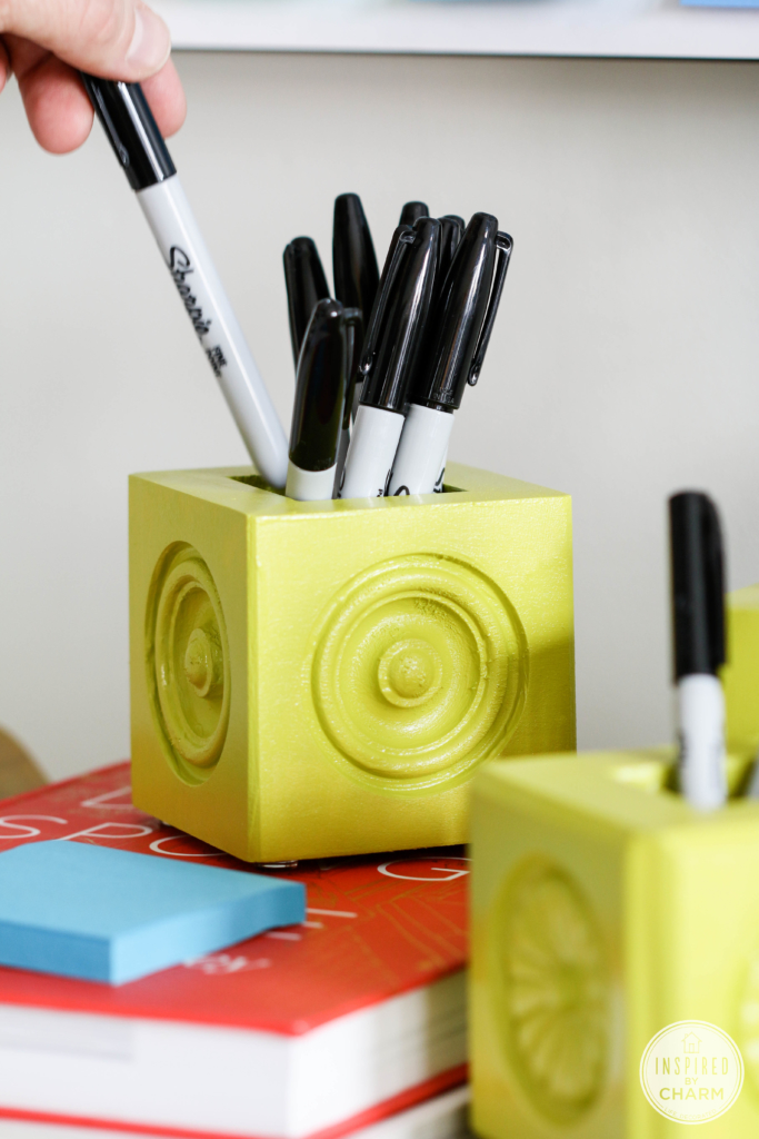 DIY Pencil Holders | Inspired by Charm