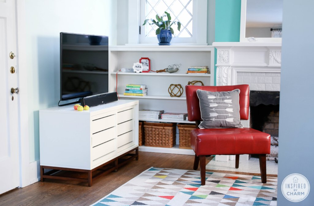 A New Spot for the TV | Inspired by Charm