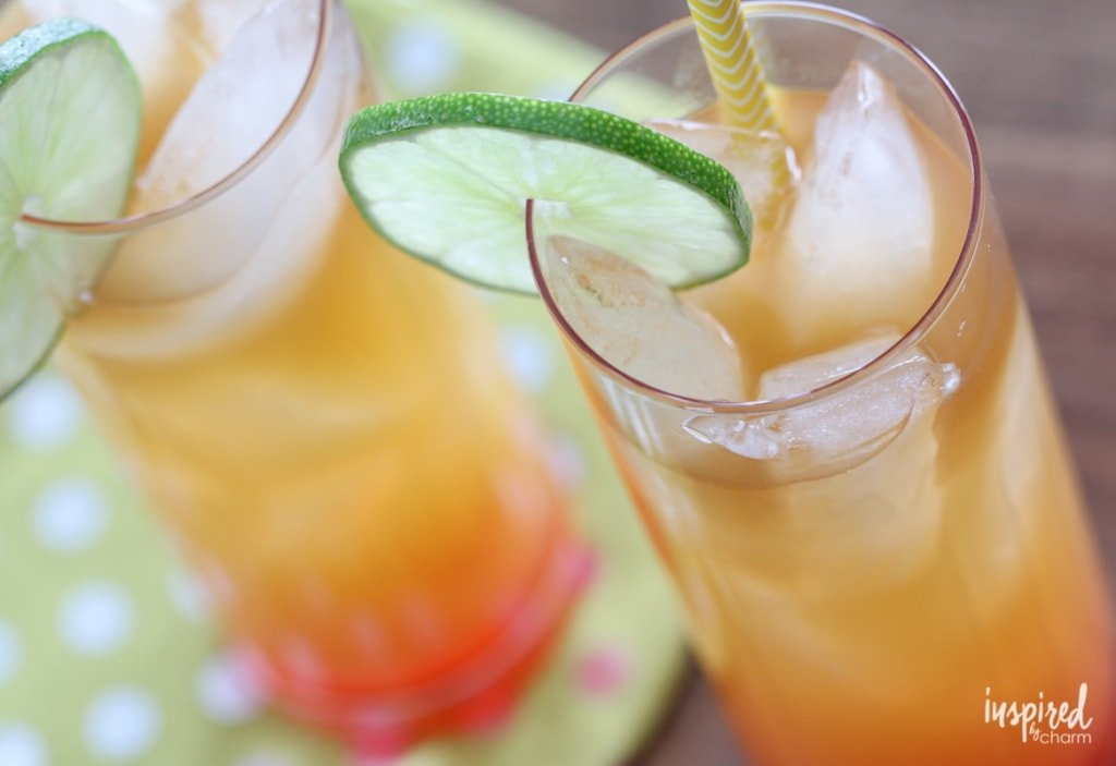 One sip of this Rum Punch and you'll be transport to tropical paradise! #rum #punch #cocktail #recipe