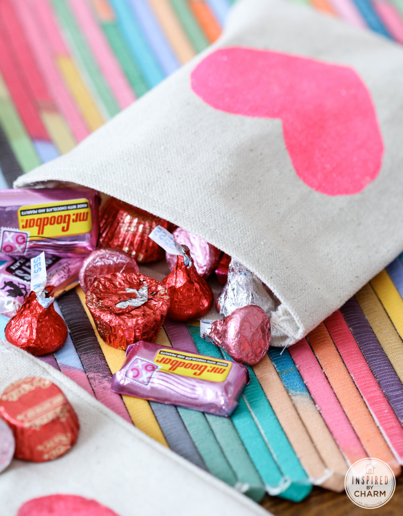 DIY Valentine's Day Treat Bags | Inspired by Charm