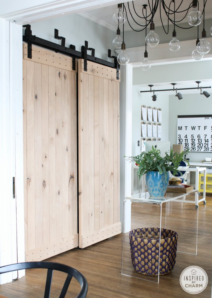 My New Barn Doors | Inspired by Charm