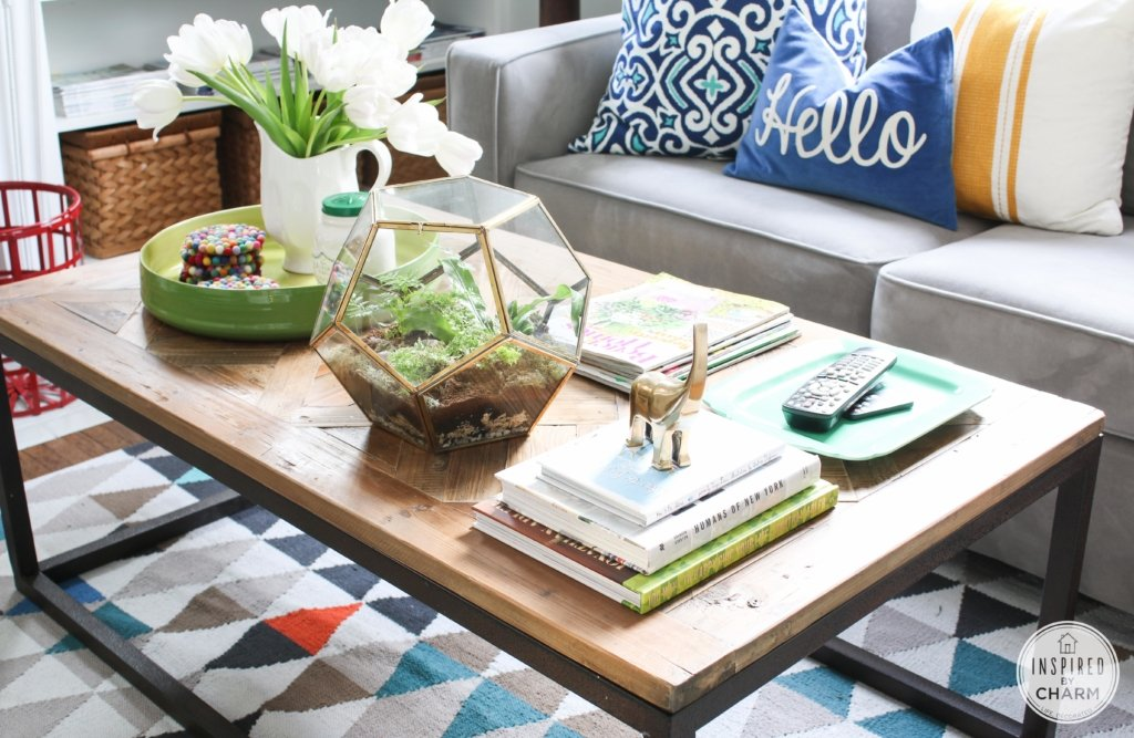 coffee table styling - inspiredcharm