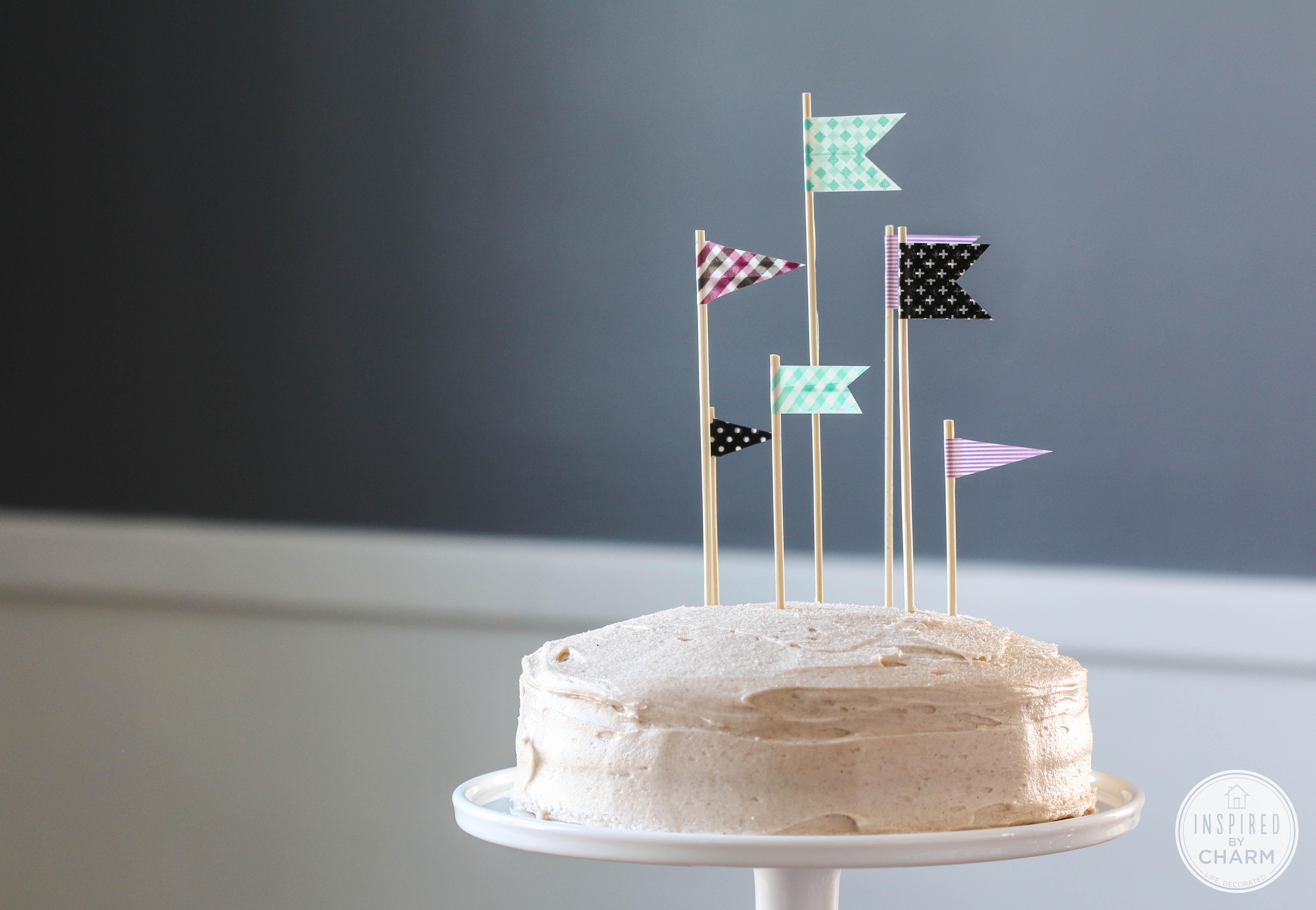 Cinnamon & Sugar Cake   Inspired by Charm