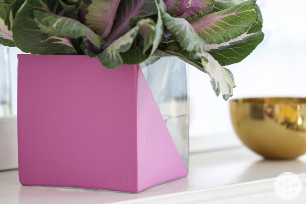 DIY Radiant Orchid Vase | Inspired by Charm
