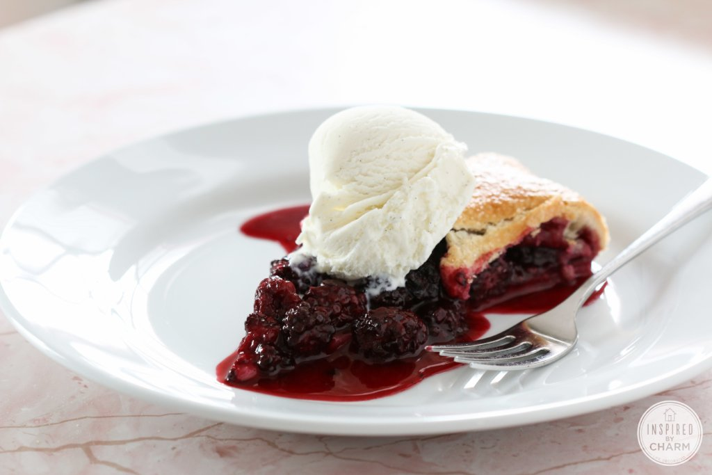 Blackberry Crostata | Inspired by Charm #ayearofpie
