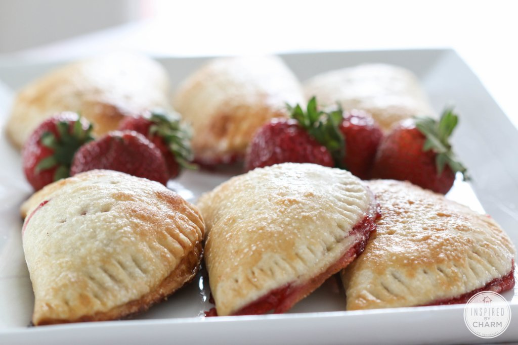 Strawberry Hand Pies | Inspired by Charm