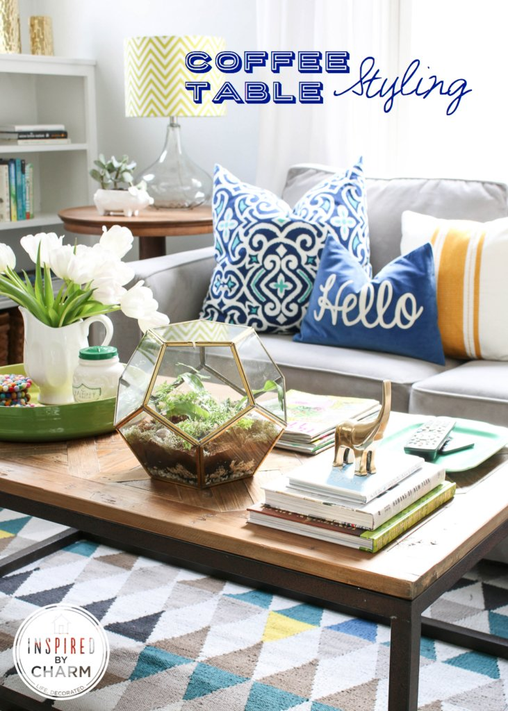 Coffee Table Styling Inspired by Charm