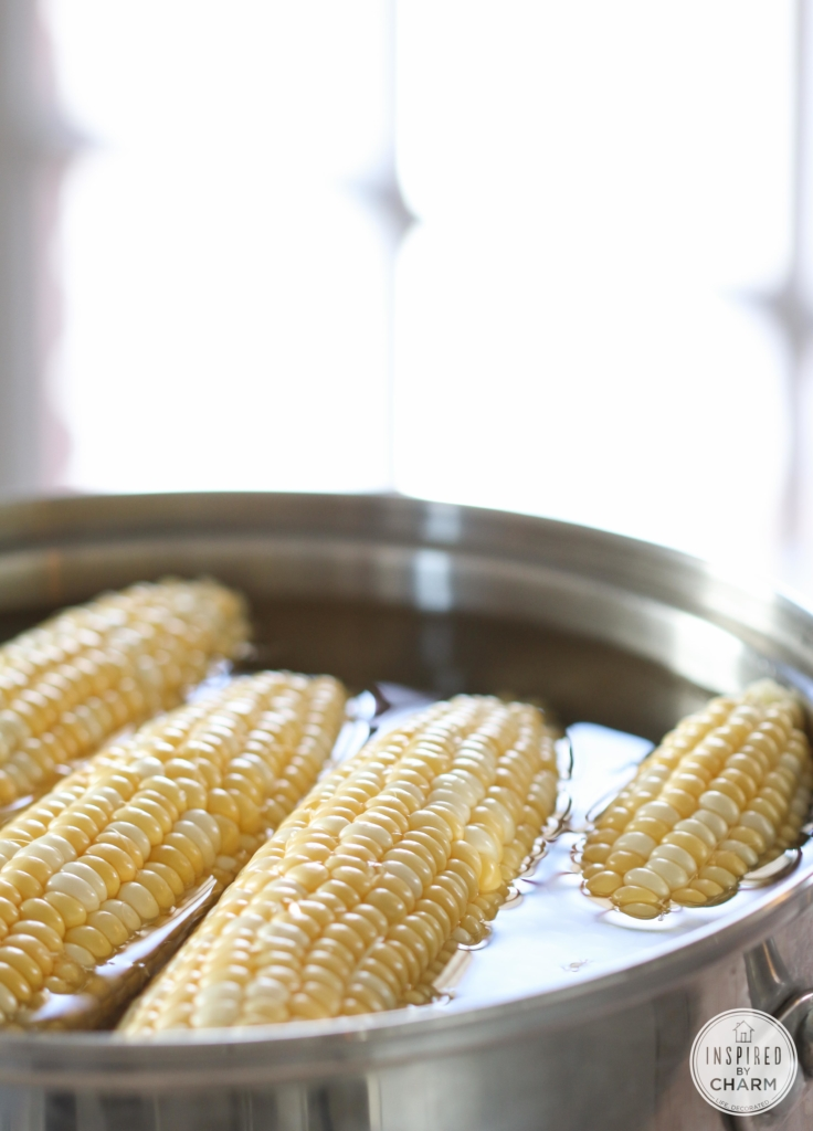 Jalapeño Corn Dip // Sweet Corn Hummus | Inspired by Charm