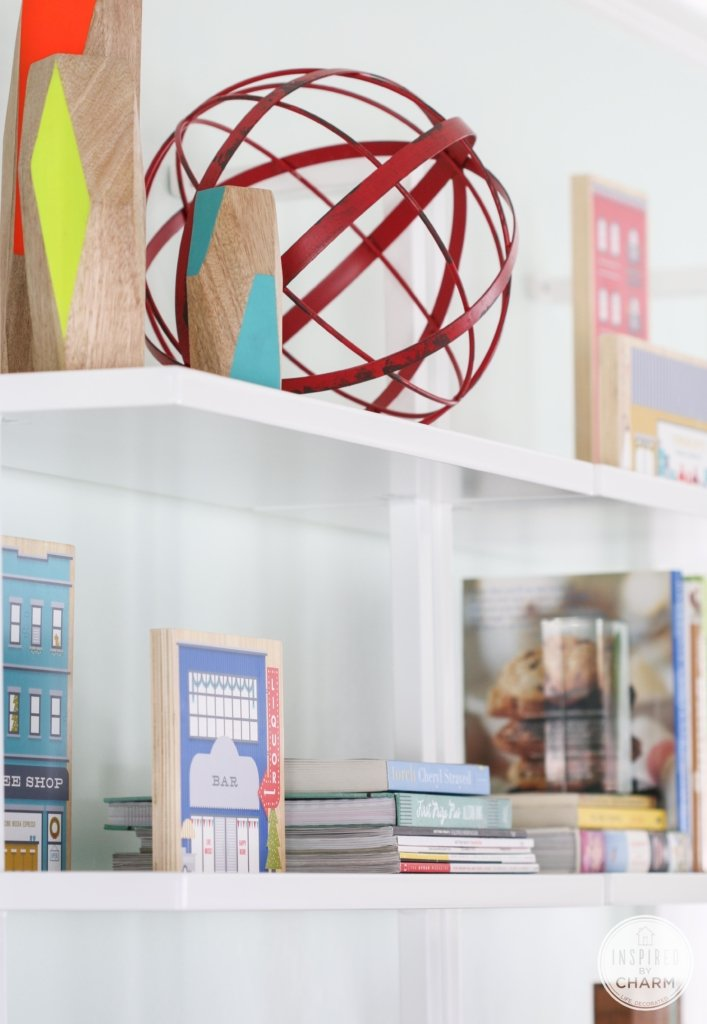 Bookshelf Styling | Inspired by Charm