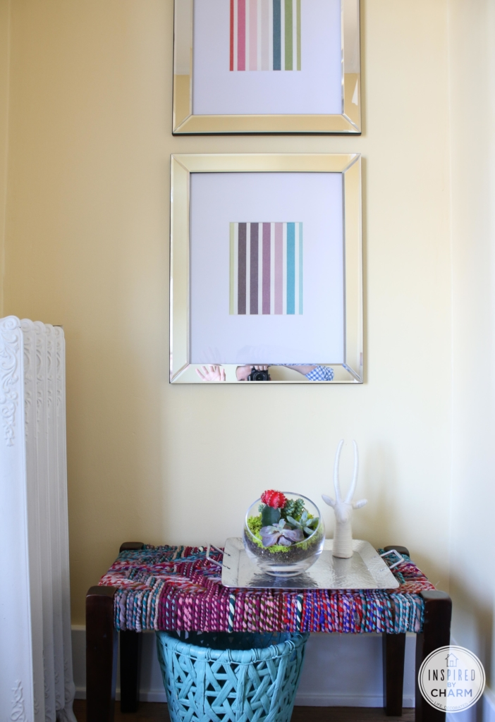 Color in the Entryway | Inspired by Charm